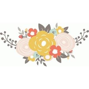 Floral swag clipart 6 » Clipart Portal.