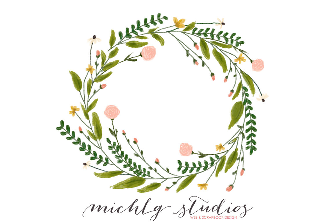 Wreath clipart.