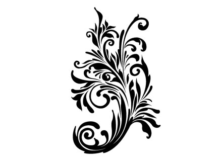 Free Floral Vector Art.