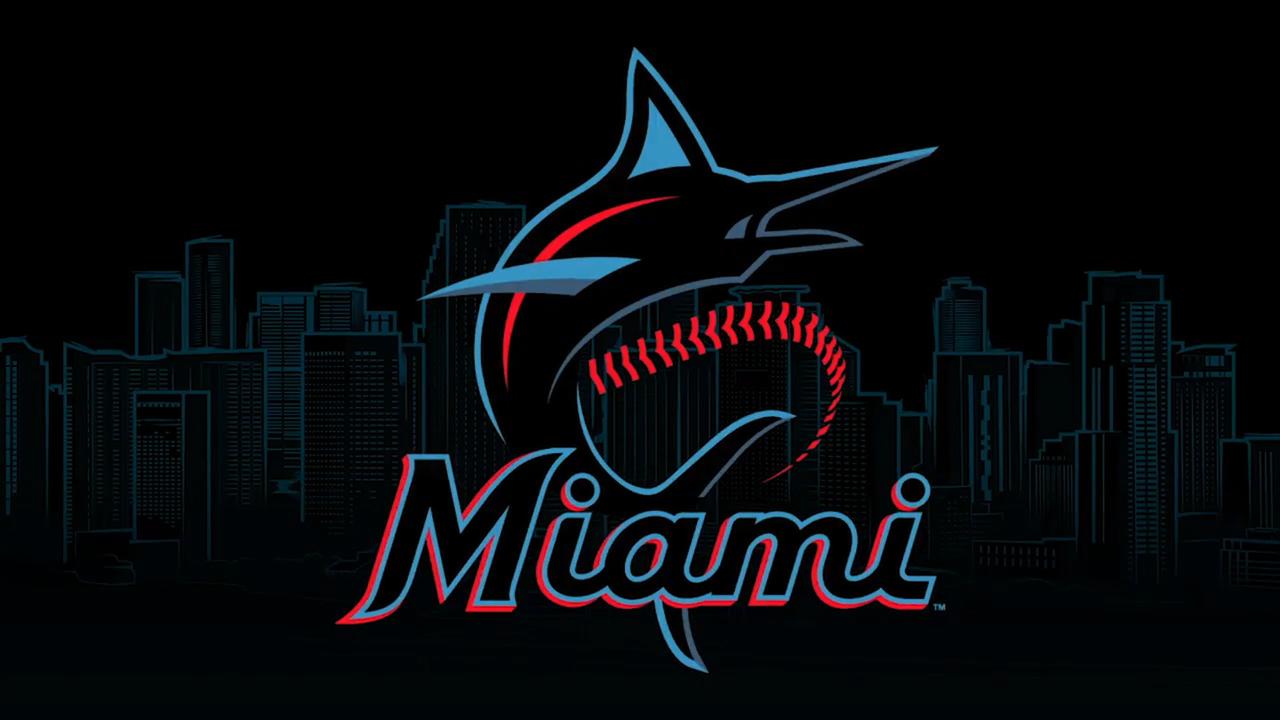 Miami Marlins announce their new logo, uniform colors.