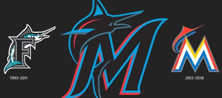 The History and Evolution of the Miami Marlins Logo.