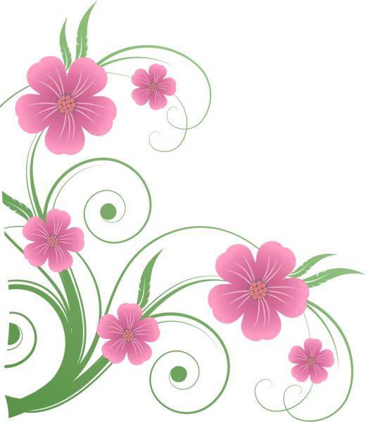 Flores clipart corel.