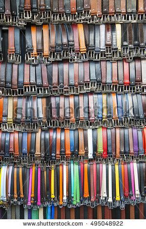 Long Leather Belt Stock Photos, Royalty.