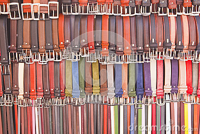 Leather Belts Florence Italy Stock Photos, Images, & Pictures.