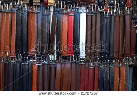 Florence Market Belt Collection Stock Photo 88477243.