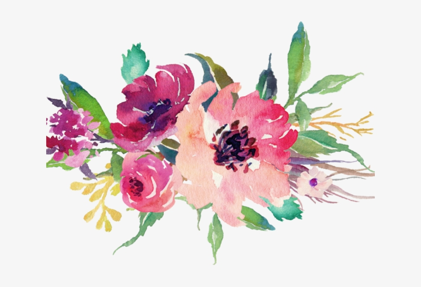 Peony Clipart Floral.