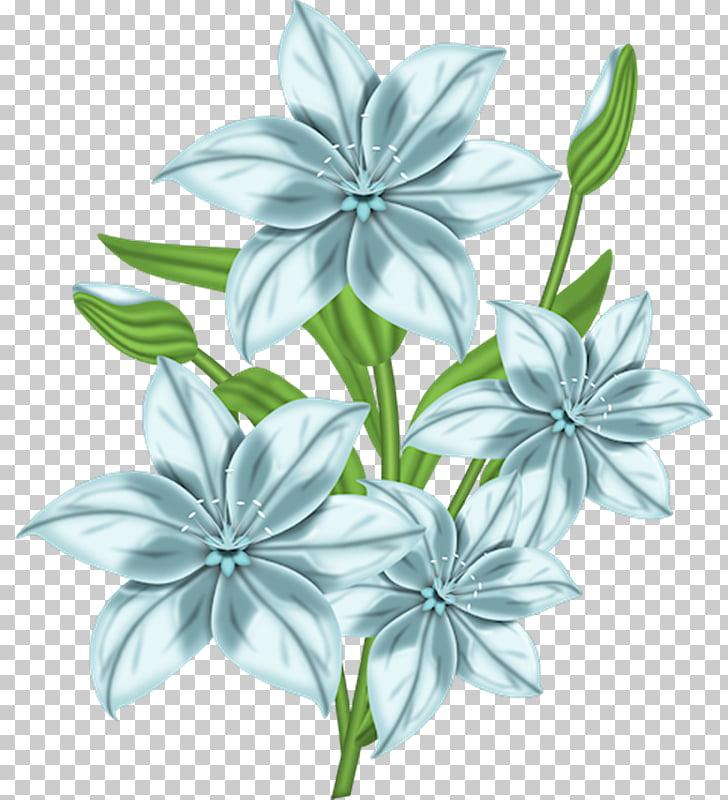 Animaatio Birthday , flores blancas PNG clipart.