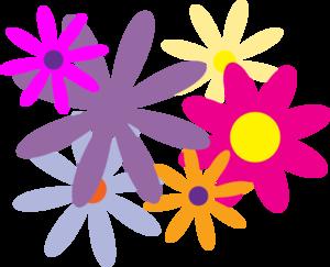 Flores Clip Art at Clker.com.