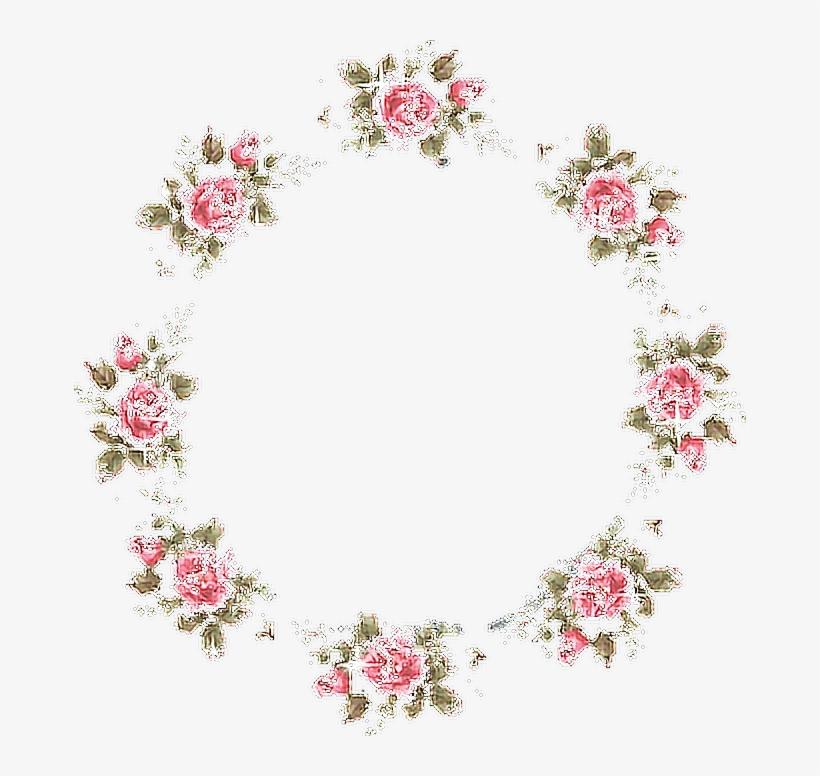 Frame Roses Flowers Aesthetic Tumblr.