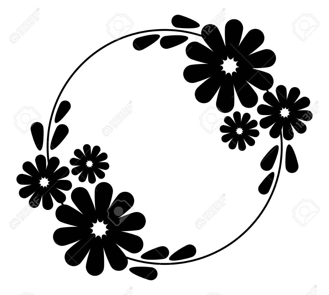Flowers Vector Clipart.