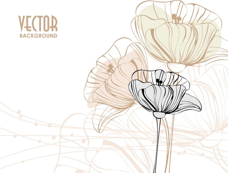 Flores delicadas png 1 » PNG Image.