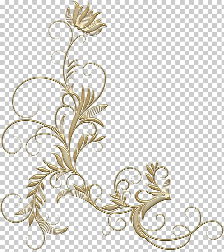 Flores doradas, patrón floral de diseño floral, flor dorada.