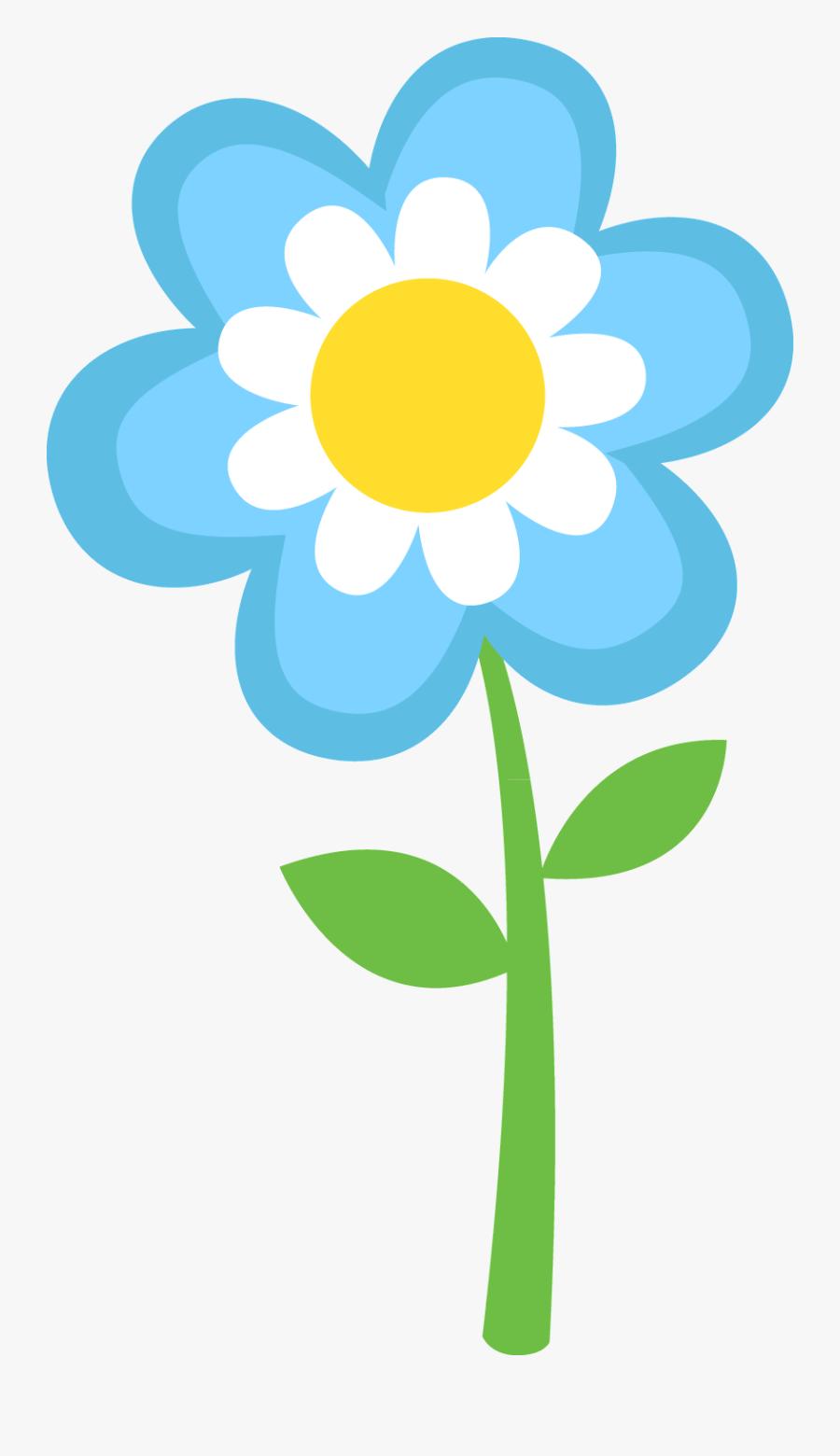 Transparent Spring Flowers Clipart.