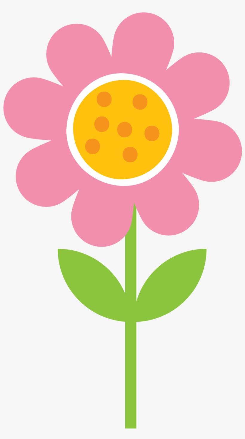 Flower Clipart Drawing Flower Dibujo Flores De Primavera.