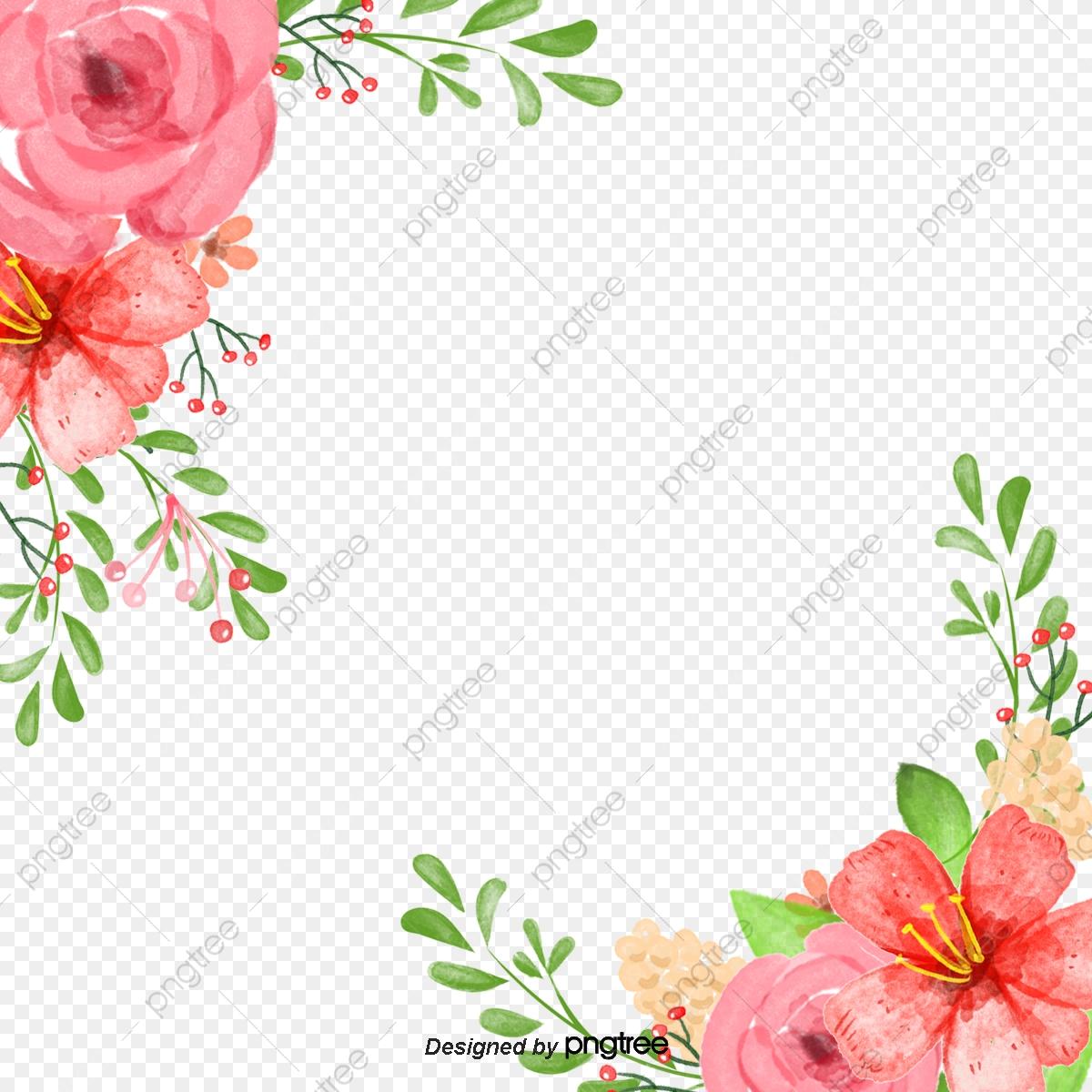 Flores, Flores, Aquarela De Flores, Flores PNG e vetor para download.
