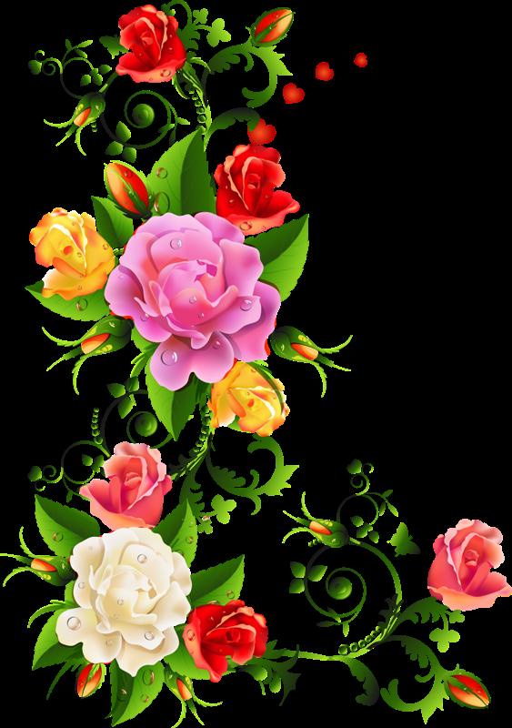 Flores Em Png Vector, Clipart, PSD.