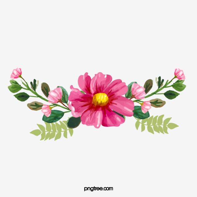 Vermelho Da Flor De Vetor, China, Elementos, Flores PNG e vetor para.