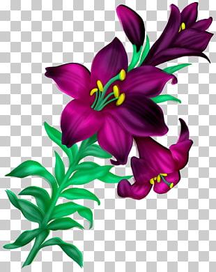 Hermosa biblioteca de flores PNG cliparts descarga gratuita.