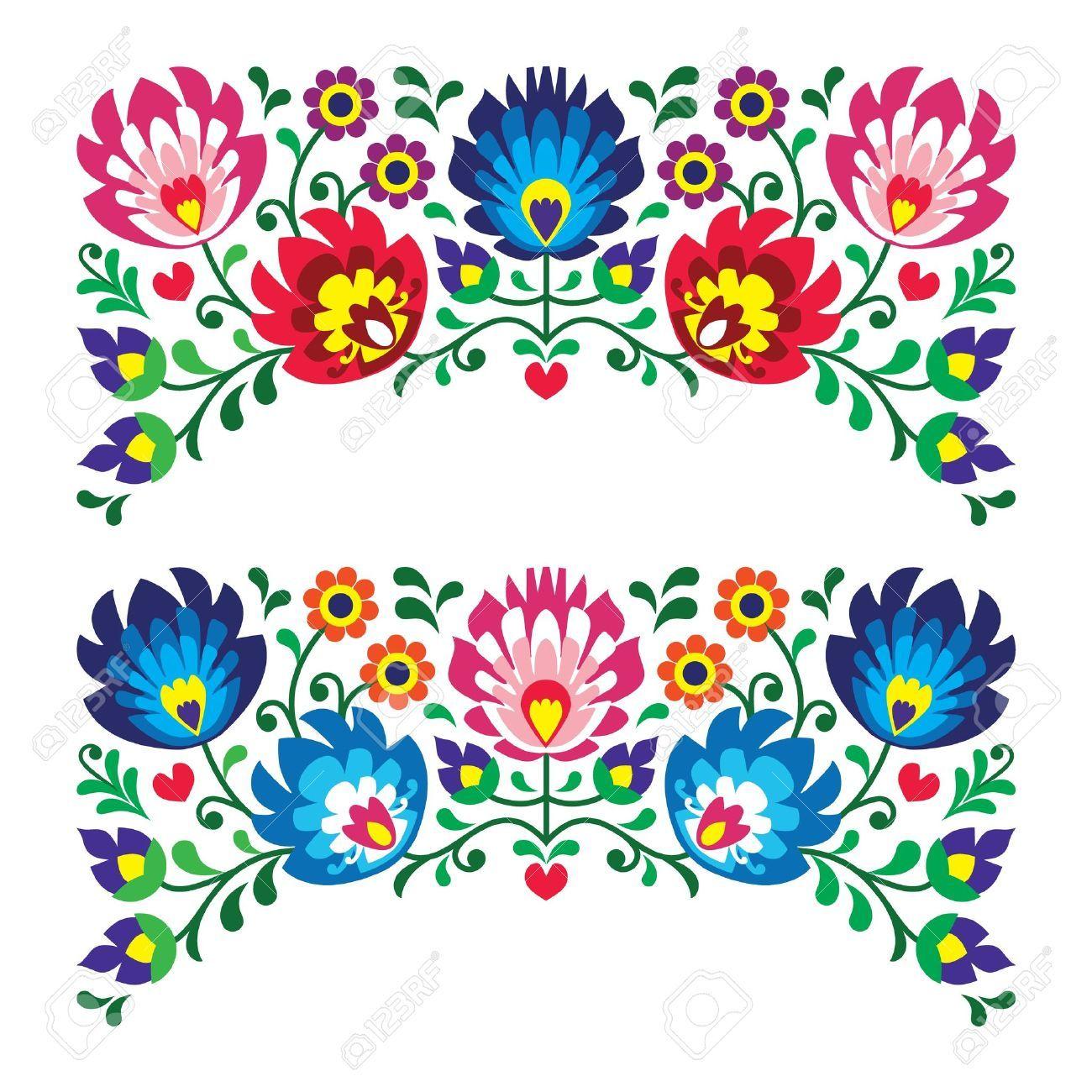 bordados mexicanos vectores.