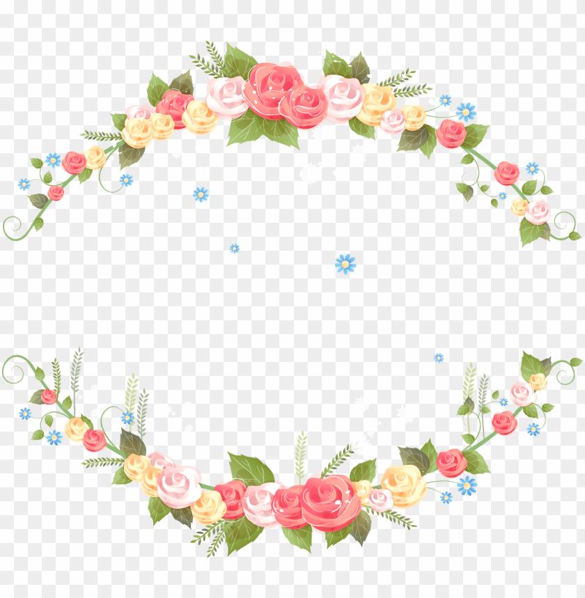 floral, cantos, clipart, png, desenho, transparente.