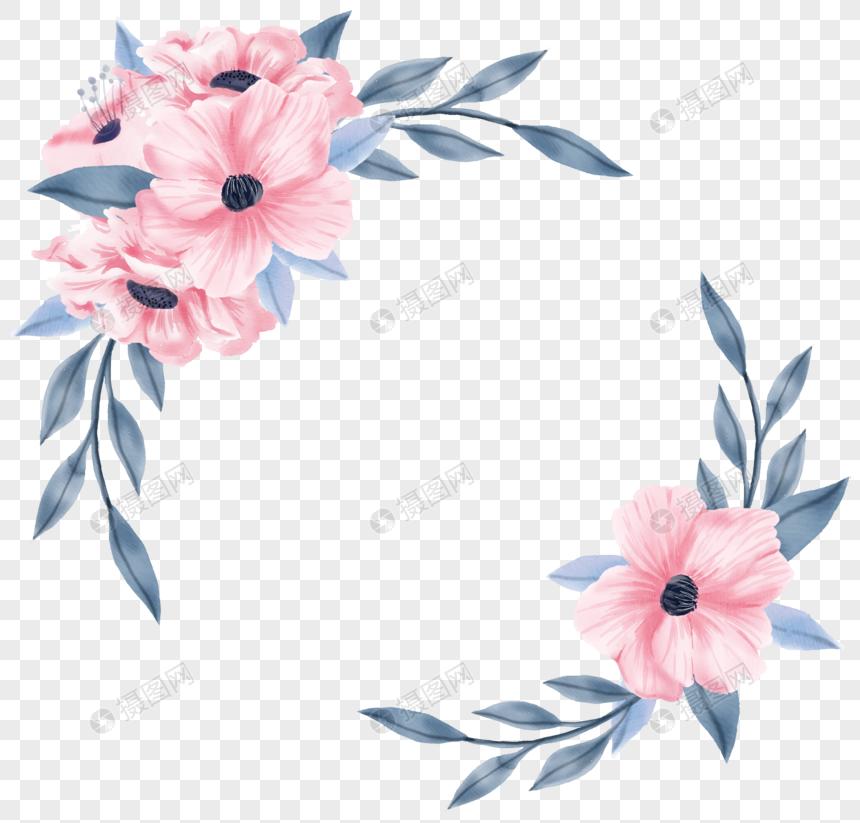 convite de casamento flor rosa Imagem Grátis_Gráficos Número.