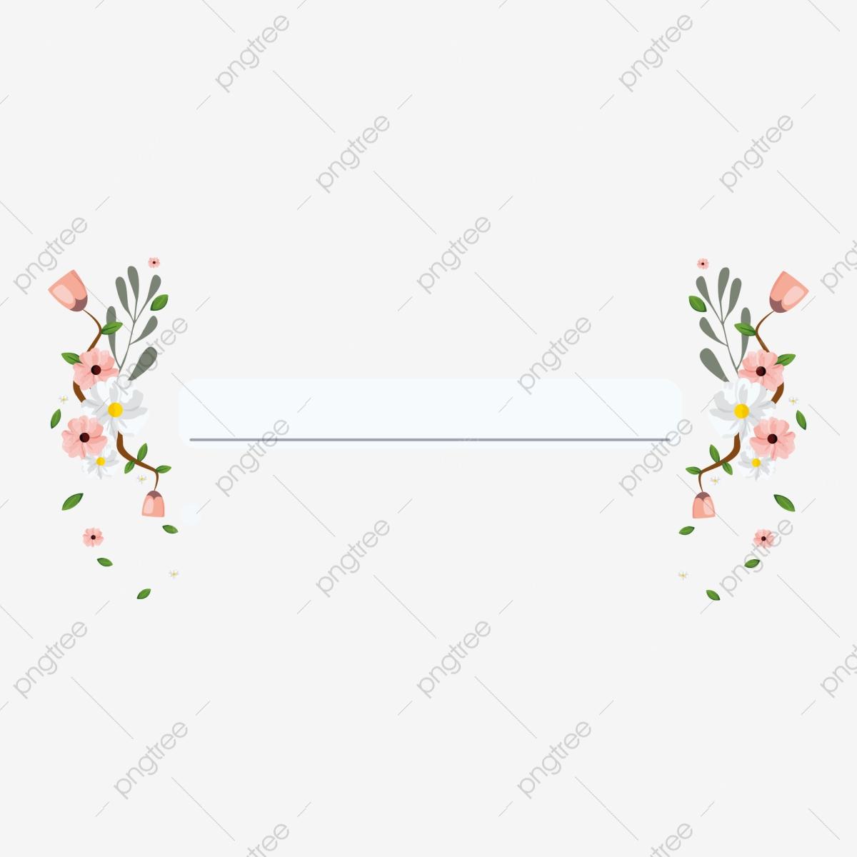 Os Elementos De Decoração, Convites De Casamento, Flores, Vector PNG.