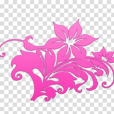 Flowers pinks flores rosas transparent background PNG.