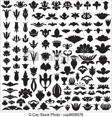 Florets Stock Illustrations. 979 Florets clip art images and.