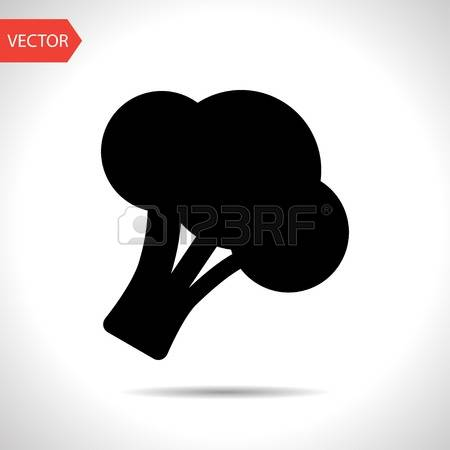 71 Broccoli Florets Stock Vector Illustration And Royalty Free.
