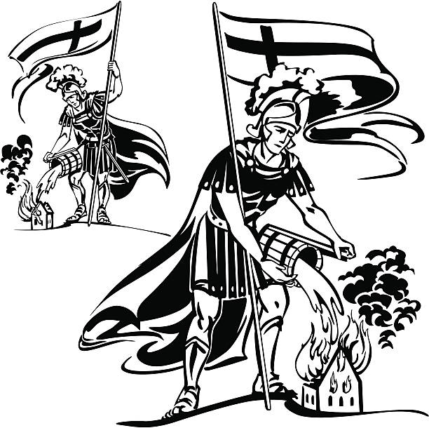 Saint Florian Clip Art, Vector Images & Illustrations.