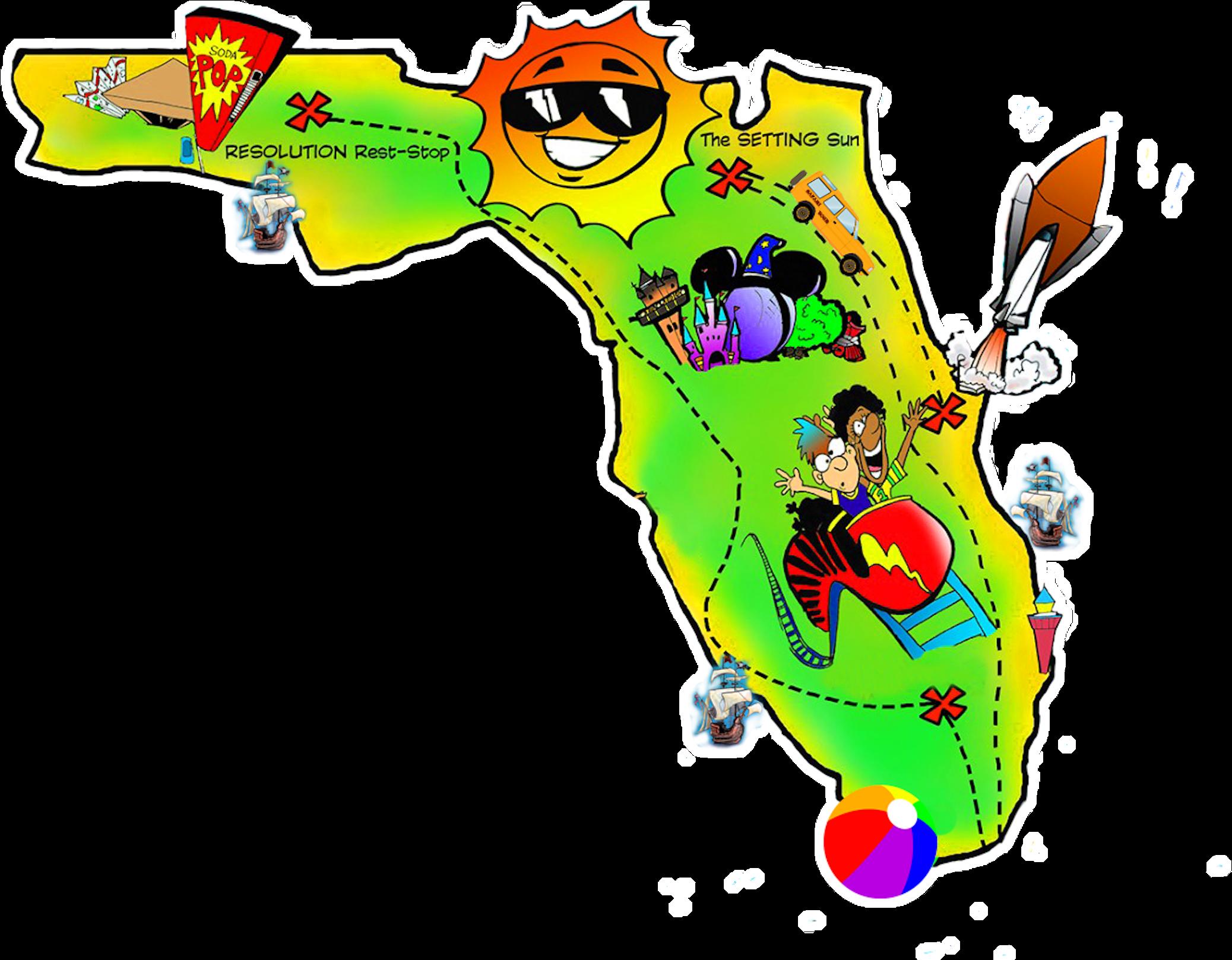 Download Clip Stock Florida Christmas Clipart.