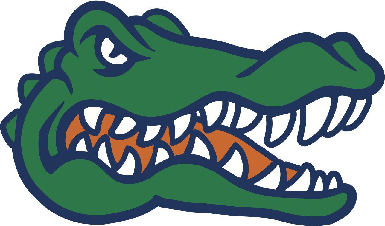 Alligator clipart simple #4.