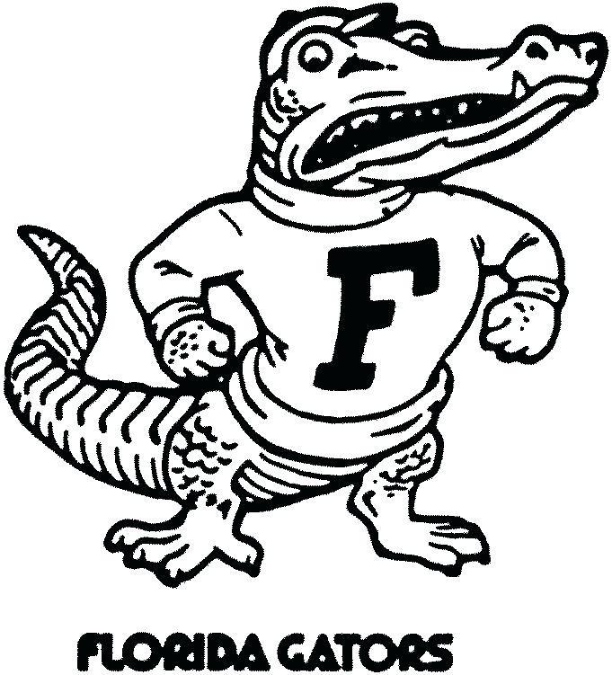 Florida Gators Drawing at Getdrawings for Florida Gator Coloring.