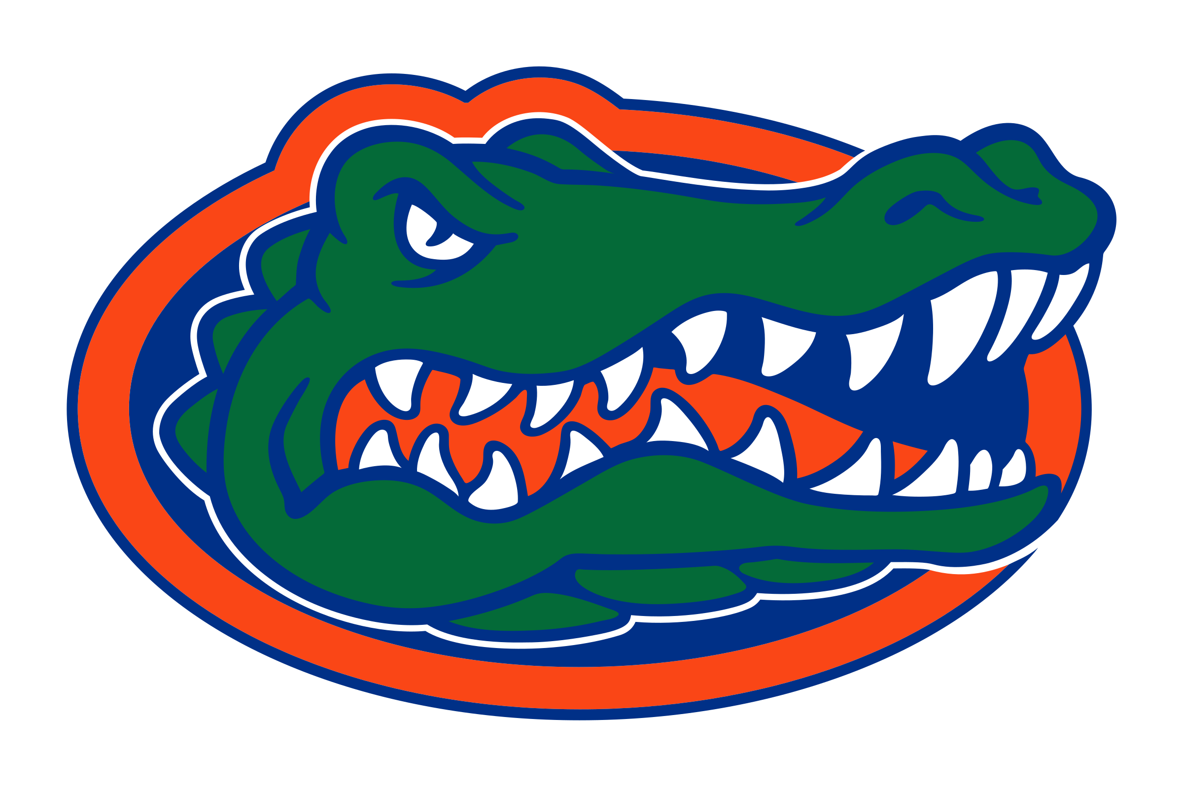 Florida Gators Logo PNG Transparent & SVG Vector.