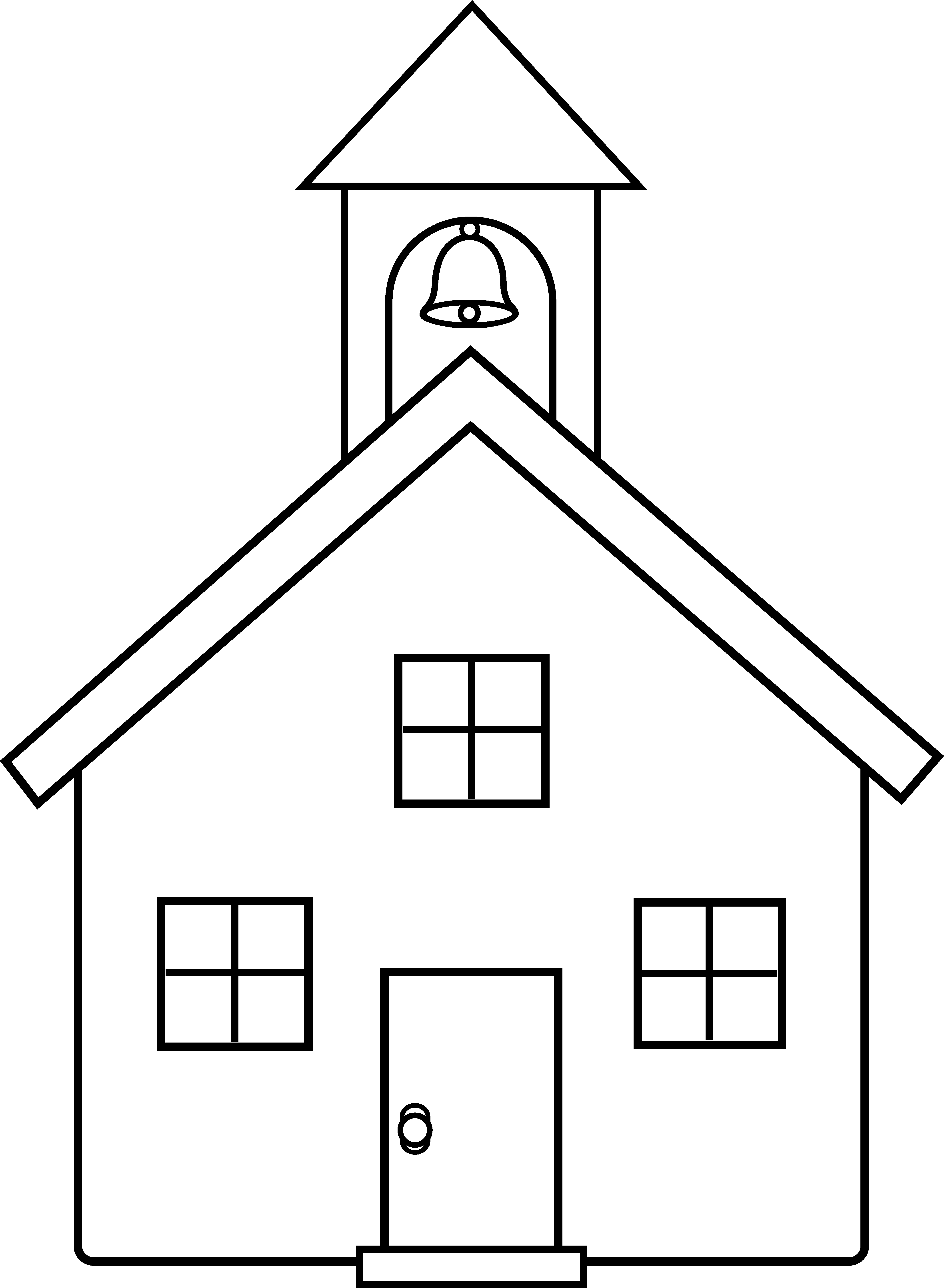 Vector and 3 House Outline Clipart 9407 Favorite ClipartFan.com.