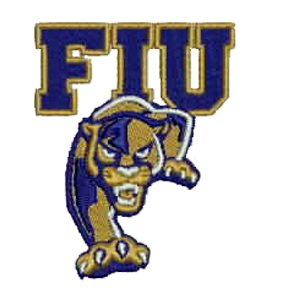 Florida International University Embroidered Patch.
