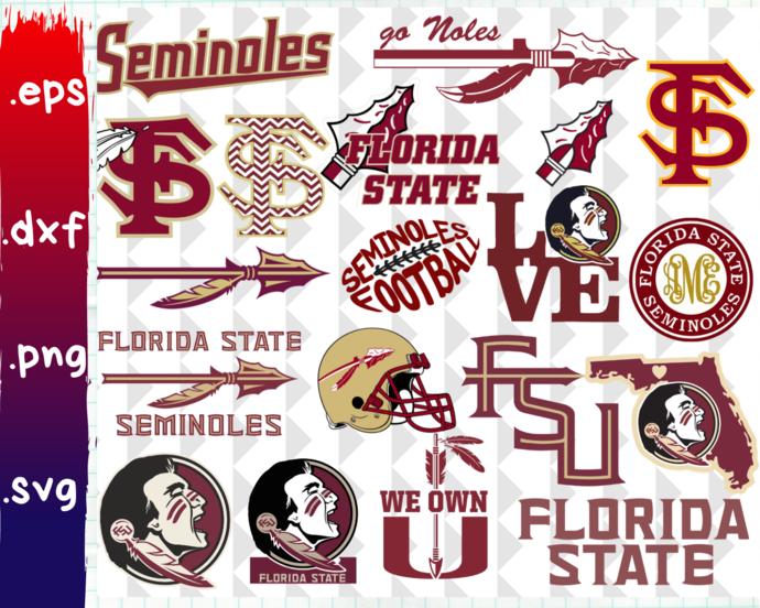 Florida State Seminoles, Florida State Seminoles svg, Florida State  Seminoles clipart, Florida State Seminoles logo,.