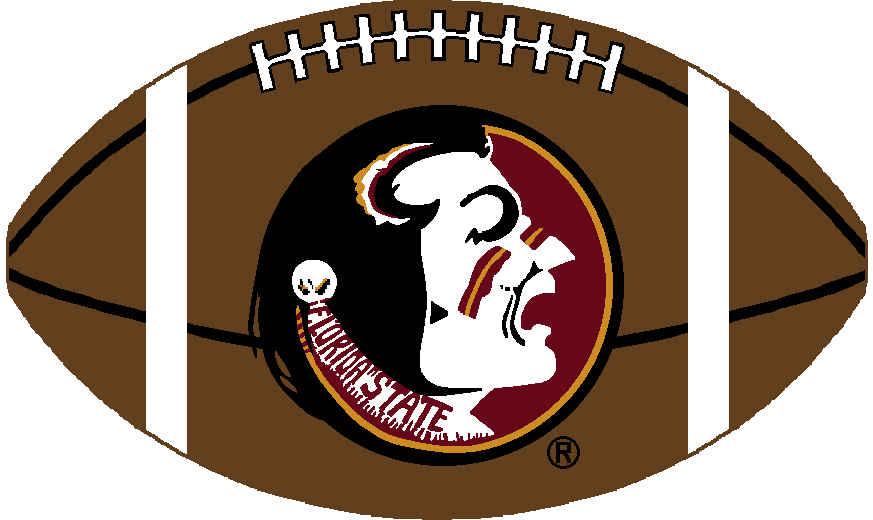 Florida state university mascot clipart.