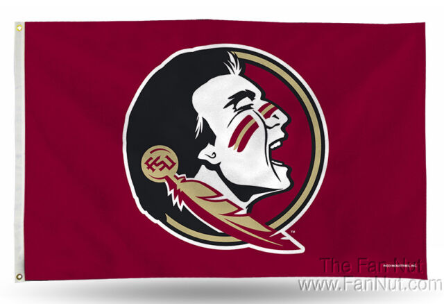 Florida State Seminoles NEW LOGO FSU RICO 3x5 Flag w/grommets Banner  University.