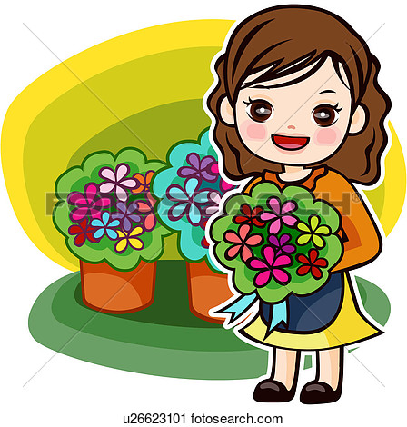 Clipart flower shop.