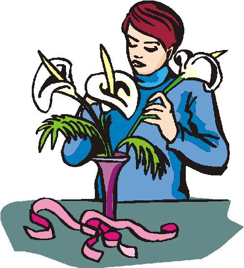 Florist Clip Art.