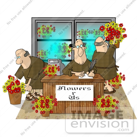 Flower Shop Clipart.