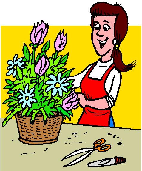 Floristry clip art.