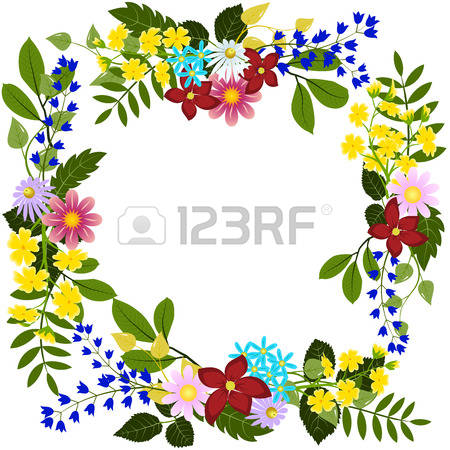 21,439 Flower Head Stock Vector Illustration And Royalty Free.