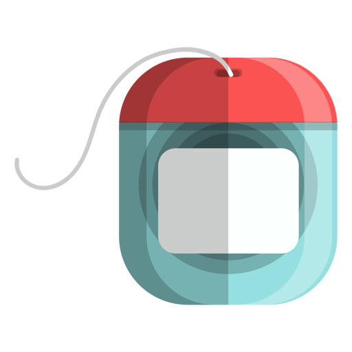 Dental floss icon.