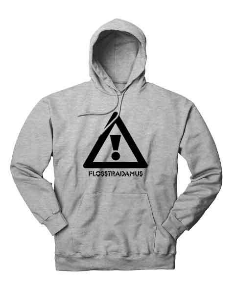 Flosstradamus Logo Hoodie Sweatshirt.