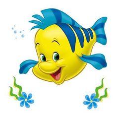 Disney flounder clipart.