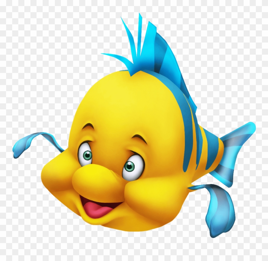 Tropical Fish Clipart Flounder.
