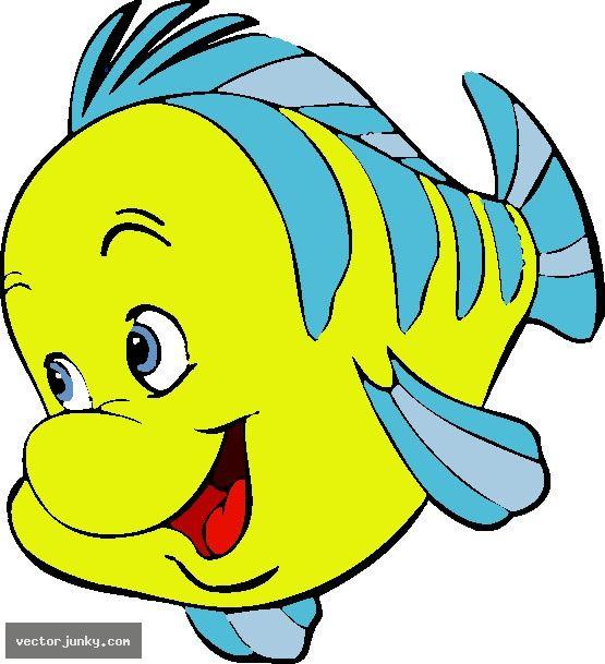 flounder litte mermaid.
