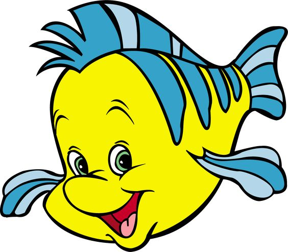 pictures of flounder from the little mermaid 3d Wallpaper.
